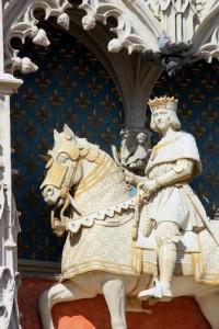 Скульптура короля Людовика XII