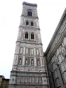 Колокольня башня Кафедрального собора Флоренции