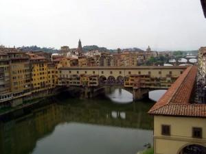 Мост Ponte Vecchio во Флоренции