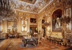 Залы Версальского двореца