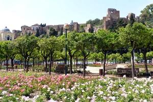 Крепость Алькасаба Alcazaba