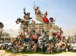 Главный праздник в Валенсии Фальяс
