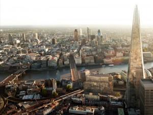 Shard «осколок» самый высокий небоскреб Европы в Лондоне