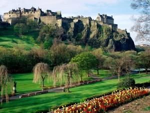 Столица Шотландии город Эдинбург
