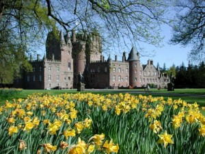 Замок Глэмис в Шотландии