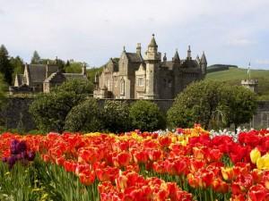 Абботсфорд замок в Шотландии