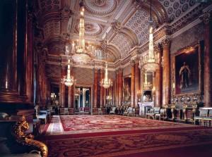 Букингемский дворец - резиденция королевы Великобритании