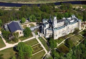 Романтичный Замок Глубока над Влтавой