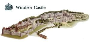 Виндзорский замок в Англии
