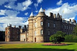 Дворец Холируд-хаус Шотландия