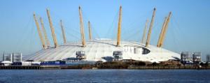 «North Greenwich Arena» Олимпийский объект «Купол»