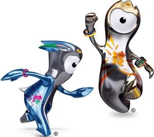 Талисманы летних игр в Лондоне 2012 Венлок и Мандевиль