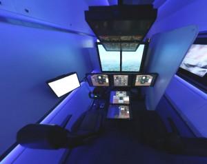 Вагон ПВЛК с тренажерами для пилота самолета и машиниста поезда