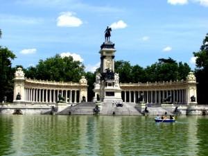 Парк Ретиро мемориал короля Альфонса XII