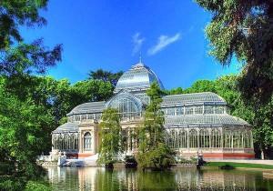 Мадрид - Парк Ретиро Хрустальный дворец