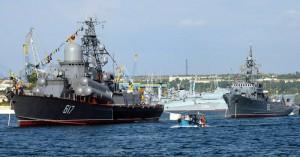 Военно-морской парад кораблей Севастопольского гарнизона