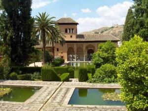 Альгамбра Миртовый двор