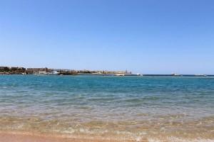 Бухта Макади-Бей в Египте. Пляж в Makadi Bay.