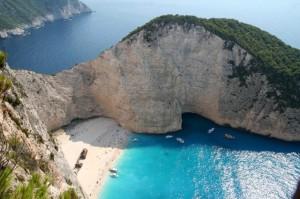 Бухта Навагео остров Закинф Греция