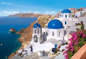 Отдых на Санторини в Греции