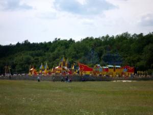 Детская игровая площадка на территории сафари-парка «Кудыкина гора»