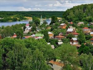 Город Плес - историческое наследие России