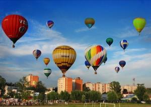 Фестиваль воздухоплавателей «Золотое кольцо России»