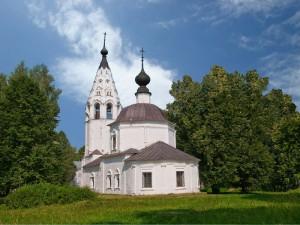 Успенский собор в городе Плес