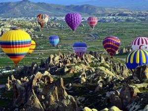 Путешествие на воздушном шаре в Турции