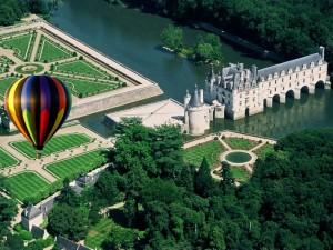 Путешествие на воздушном шаре во Франции