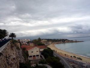 Вид с «Балкона Средиземноморья» в Таррагоне