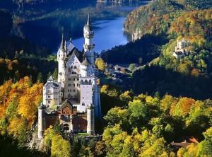 Замок Нойшванштайн короля Баварии Людвига II