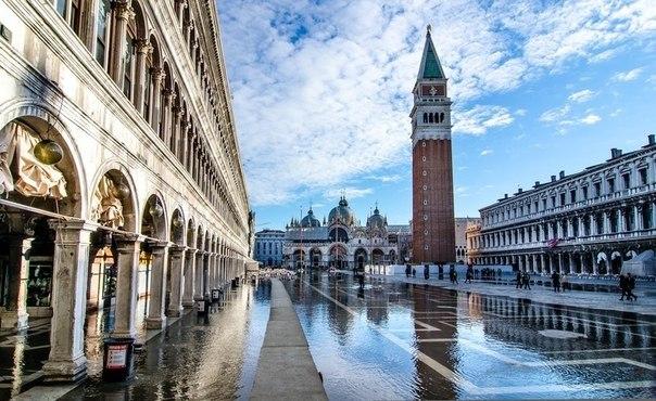 Площадь Сан-Марко. Венеция. Италия.