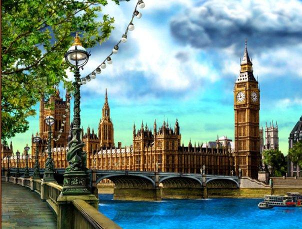 Лондон. Великобритания.