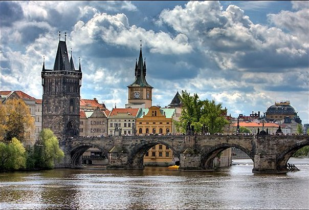 Карлов Мост. Прага. Чехия.