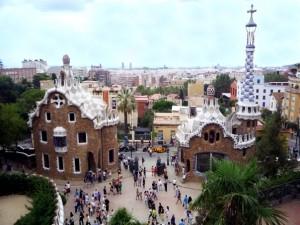 Парк Гуэля. Барселона. Испания.