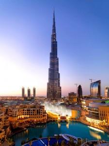 Burj Khalifa (Бурдж-Халифа) - самый высокий небоскреб в мире