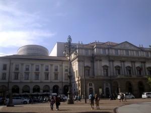 Театр Ла Скала в Милане.