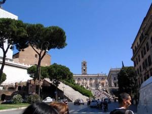 Капитолийский холм в Риме.