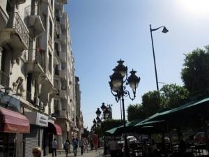 Авеню Хабиба Бугрибы – главная улица Туниса.