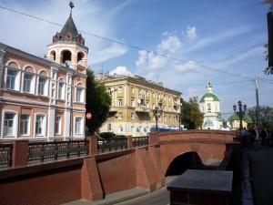 Каменный мост в Воронеже.