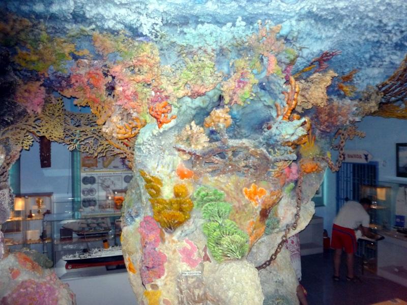 Морской музей в Сафари-парке Геленджика.