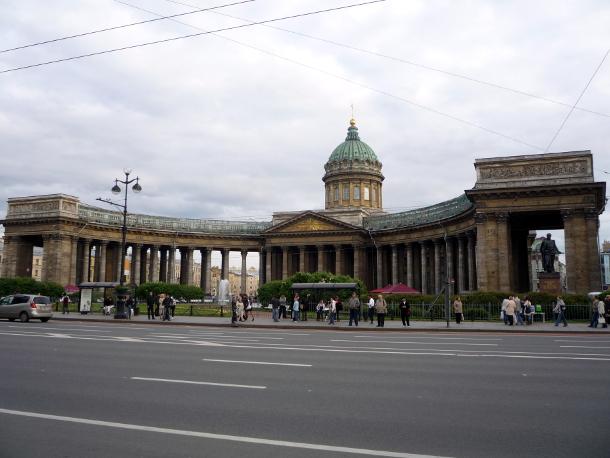 Казанский собор – главный кафедральный собор Санкт-Петербурга.