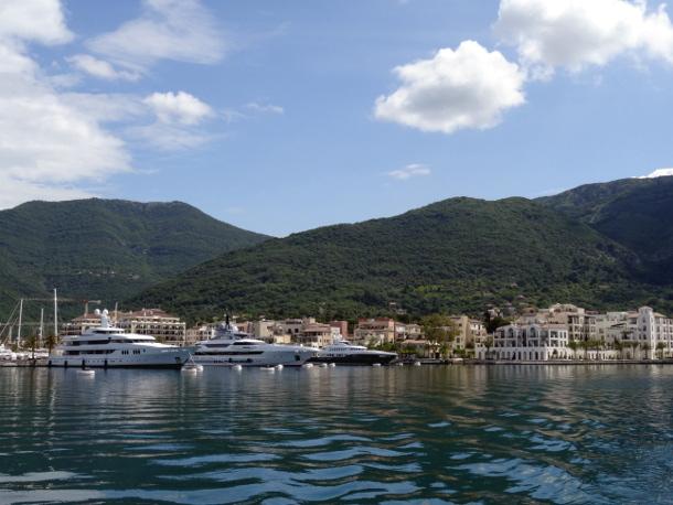 Яхт-комплекс Porto Montenegro в Тивате. Черногория.