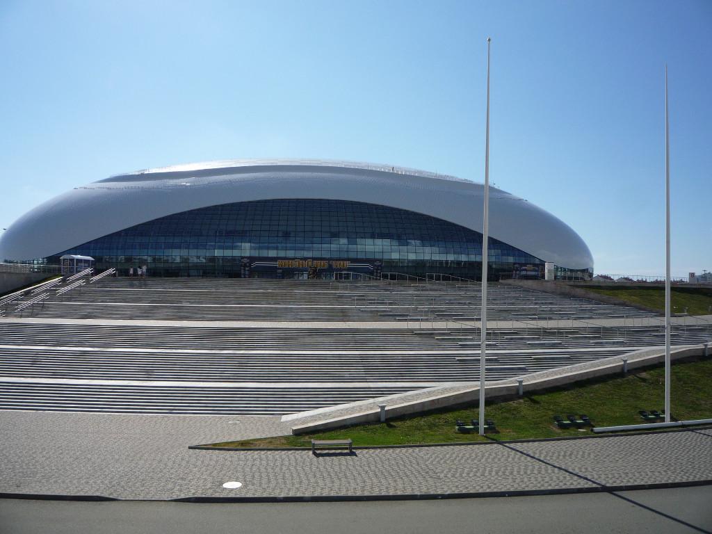 Ледовый дворец «Большой». Олимпийский парк Сочи.